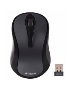 Mouse Optic A4Tech G3-280N, USB Wireless, Glossy Grey
