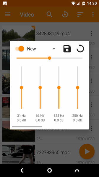 VLC Android Audio Boost