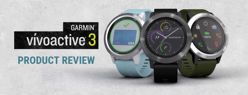 Review Smartwatch Garmin Vivoactive 3